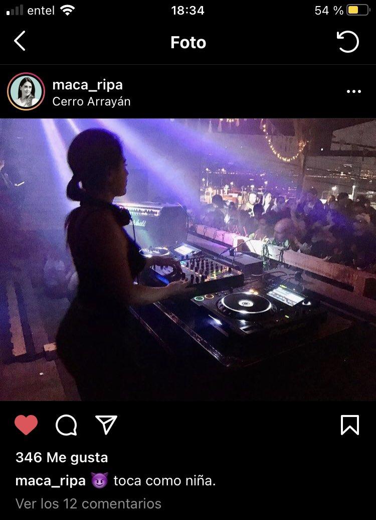 Publicación en Instagram de la actual alcaldesa electa de Viña del Mar