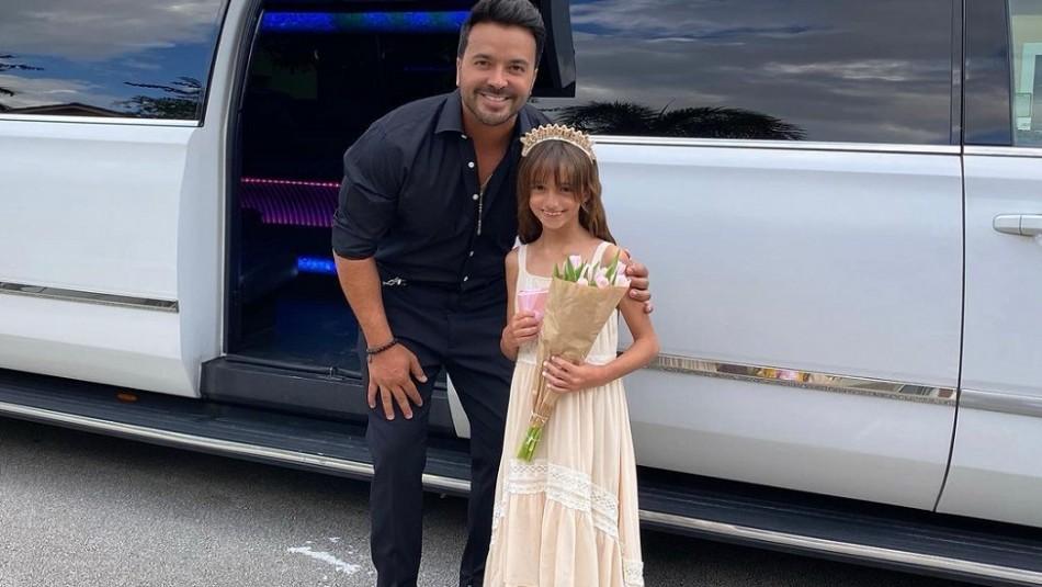 Luis Fonsi comparte orgulloso una nueva foto de su hija mayor: