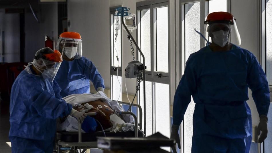 Cifra récord: Argentina registra 745 muertos y más de 35 mil casos nuevos de Covid-19 en un día
