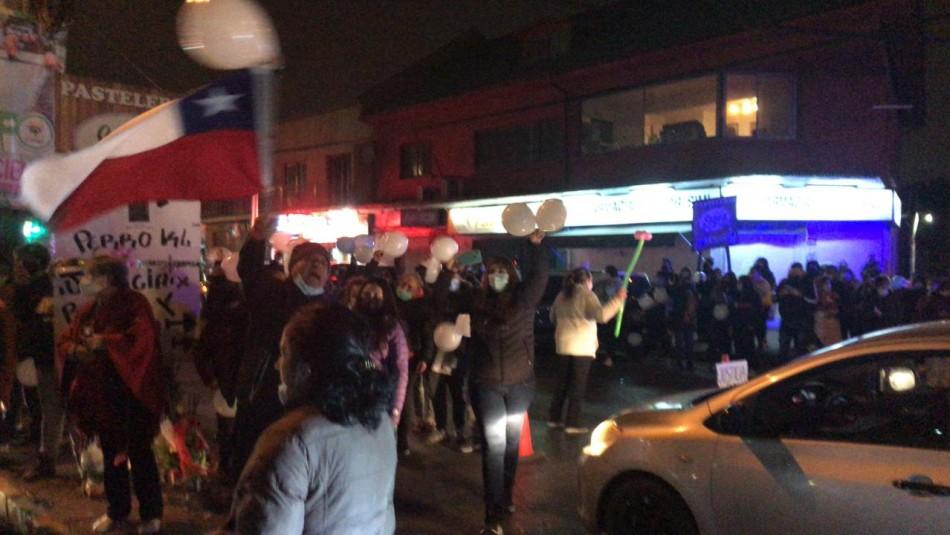 Realizan manifestación en honor a hermanos asesinados en El Bosque.