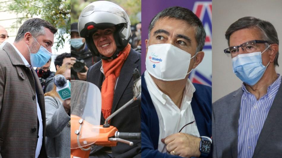 Chile Vamos inscribe candidatos para primarias presidenciales: así será el orden de su papeleta