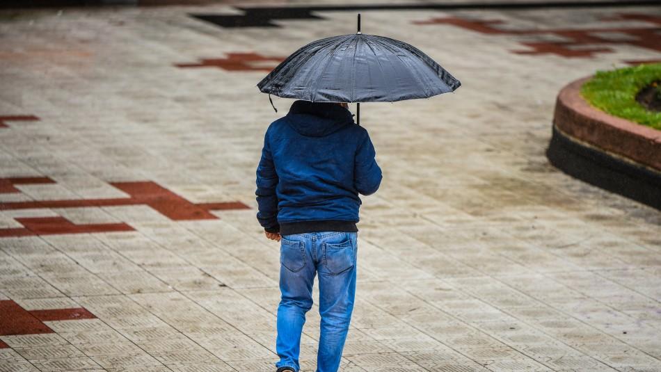 Lluvia en Santiago: las comunas de la RM donde se esperan las precipitaciones