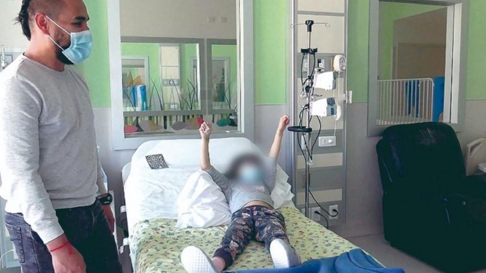 Tras ser intubada y presentar falla cardíaca: niña de 7 años logra recuperarse de PIMS