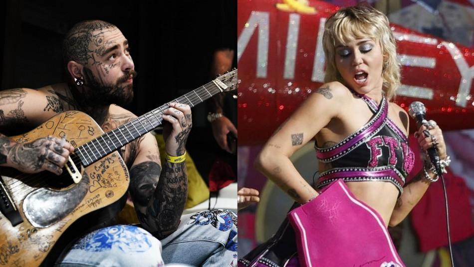 Post Malone y Miley Cyrus