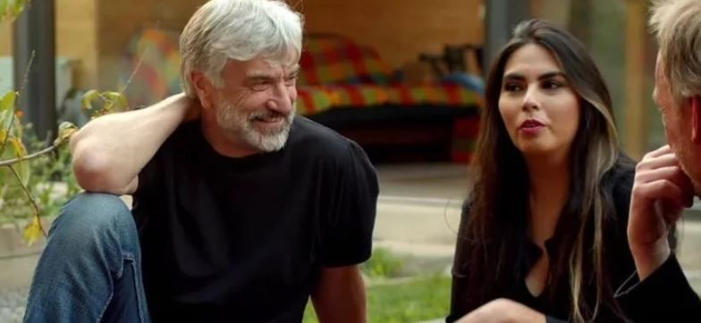 Pancho Reyes con Elisa