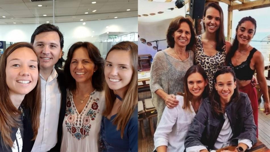 Los pilares de Christiane Endler: La familia y pareja que son claves para la portera