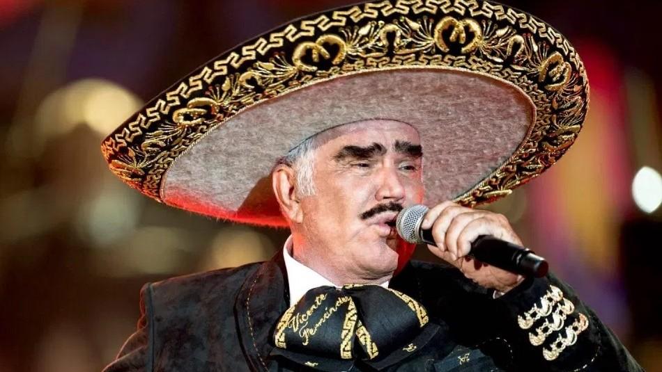 La foto más reciente de Vicente Fernández a sus 81 años: Se sigue pintando los bigotes y cejas