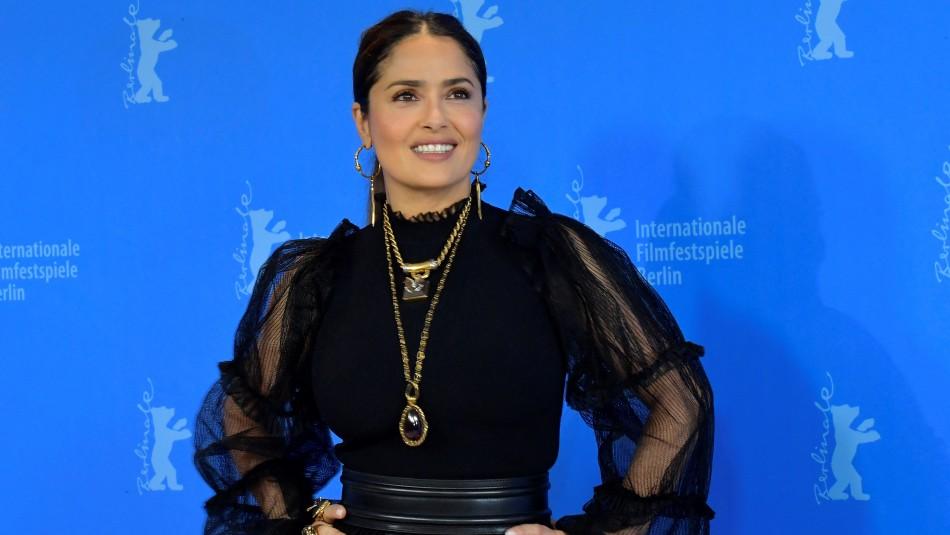Salma Hayek confiesa que estuvo cerca de morir por coronavirus