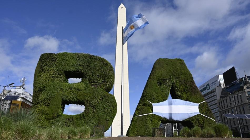 Argentina entrará en confinamiento total por 9 días ante alza de contagios de coronavirus
