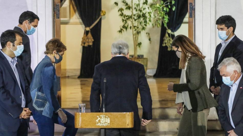 Expectación por inminente nuevo cambio de gabinete en el Gobierno de Piñera