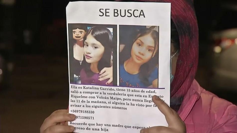 Buscan a adolescente en San Bernardo: familia duda de carta dejada por la menor