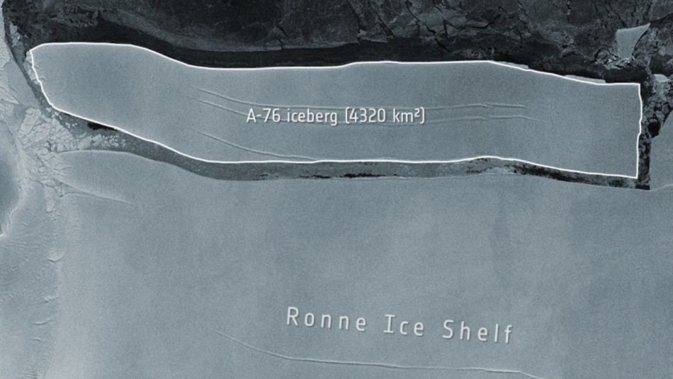 Planeta Futuro - Iceberg más grande del mundo se desprende de la Antártica
