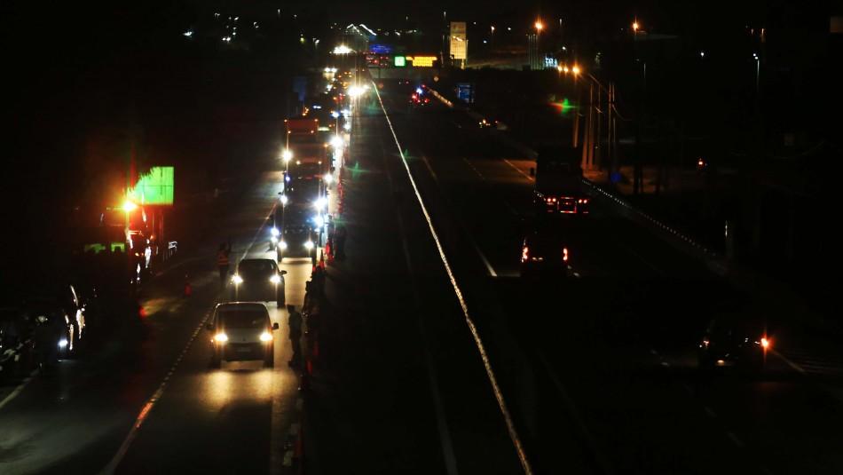 Tacos kilométricos: 128 mil vehículos salieron desde la Región Metropolitana
