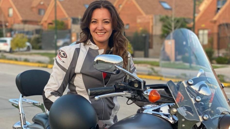Priscilla Vargas traspasa su pasión por las motos a su hija de 14 años: