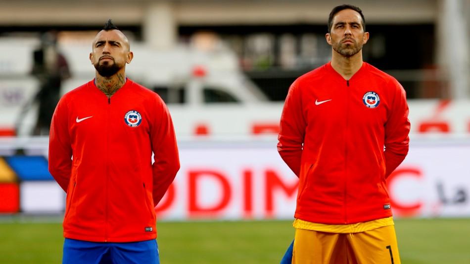 Dan a conocer la nómina de Chile para los partidos frente a Argentina y Bolivia