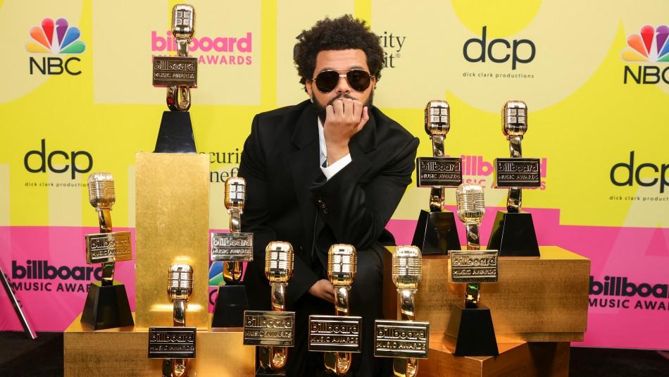 The Weeknd ganó 10 premios en la nueva edición de los Billboard Music Awards