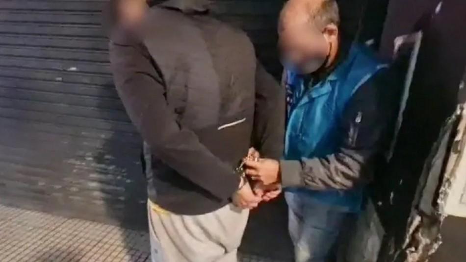 Chilenos arrestados en Argentina.
