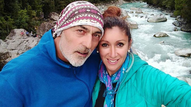 Angélica Sepúlveda y su ex de nacionalidad turca