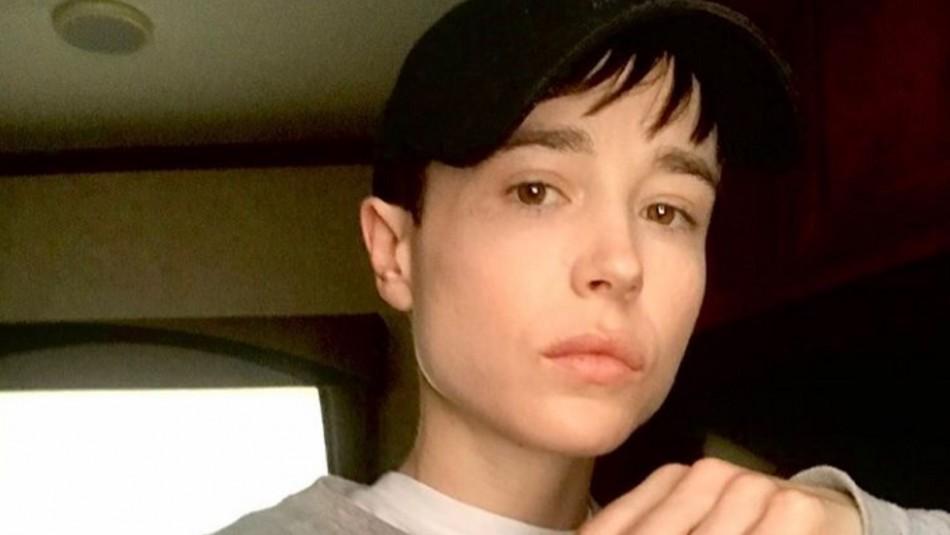 Elliot Page comparte primera vez con traje de baño tras cirugía: Daniela Vega comentó la foto