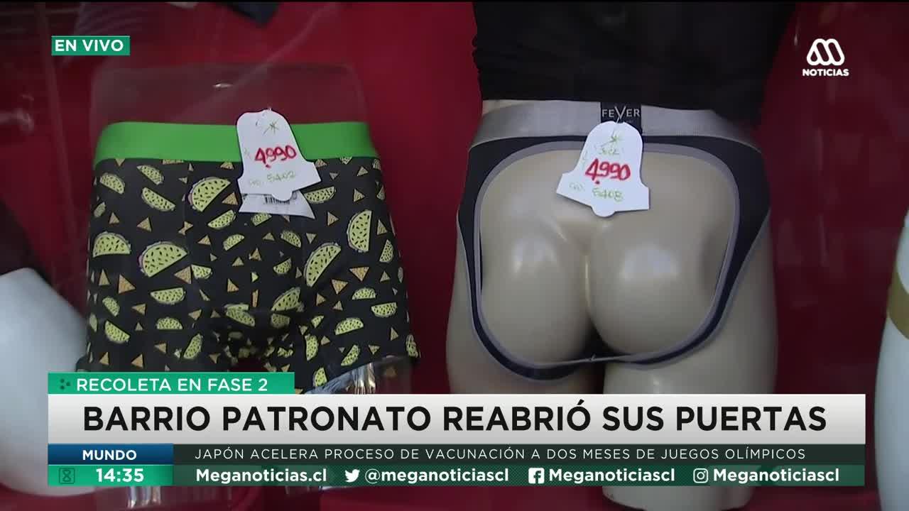 La ropa interior que desató la risa de Andrea Arístegui y Repenning