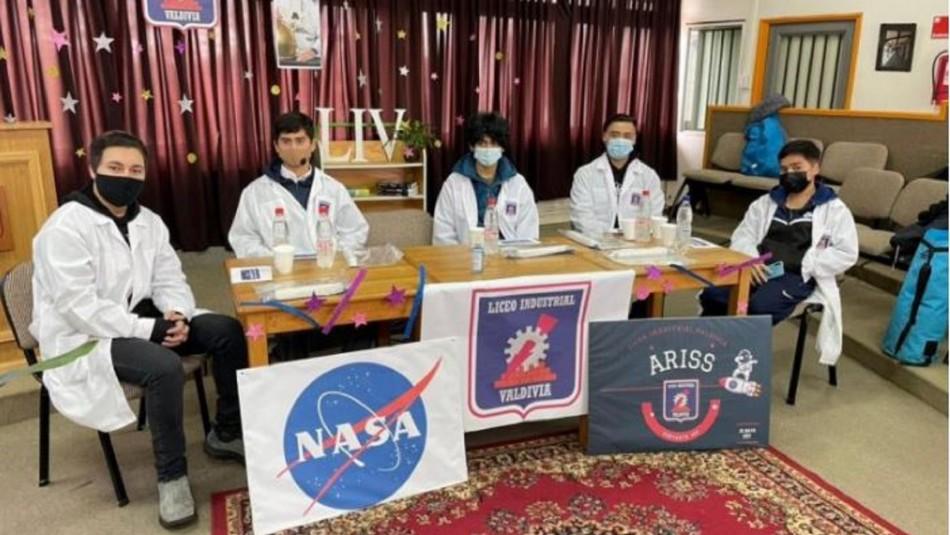 Estudiantes chilenos hablaron con astronauta de la Estación Espacial Internacional