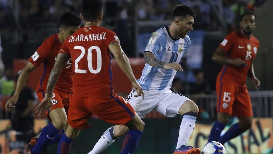 ¿Cuándo juega Chile ante Argentina por las Eliminatorias Sudamericanas?