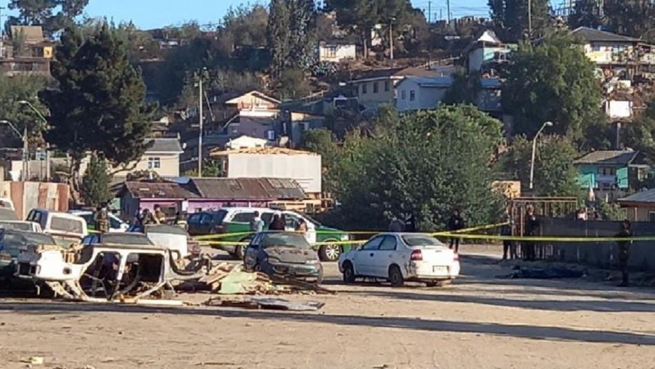 Confirman ataque homicida en cuerpo encontrado sin vida en sitio eriazo en Quilpué.