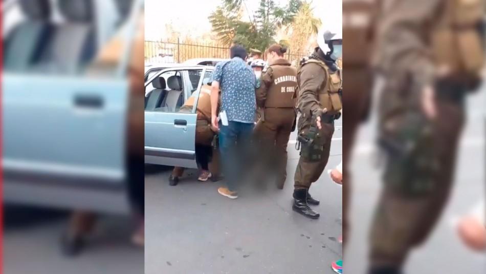 Mujer recibe disparo de Carabineros: Habría intentado evadir fiscalización