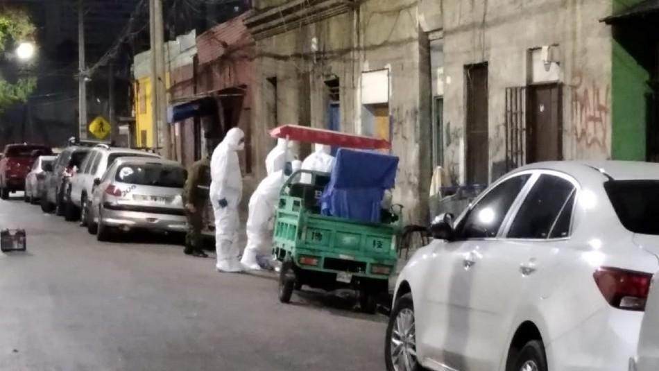 Hombre muere tras ser baleado por desconocidos en Recoleta