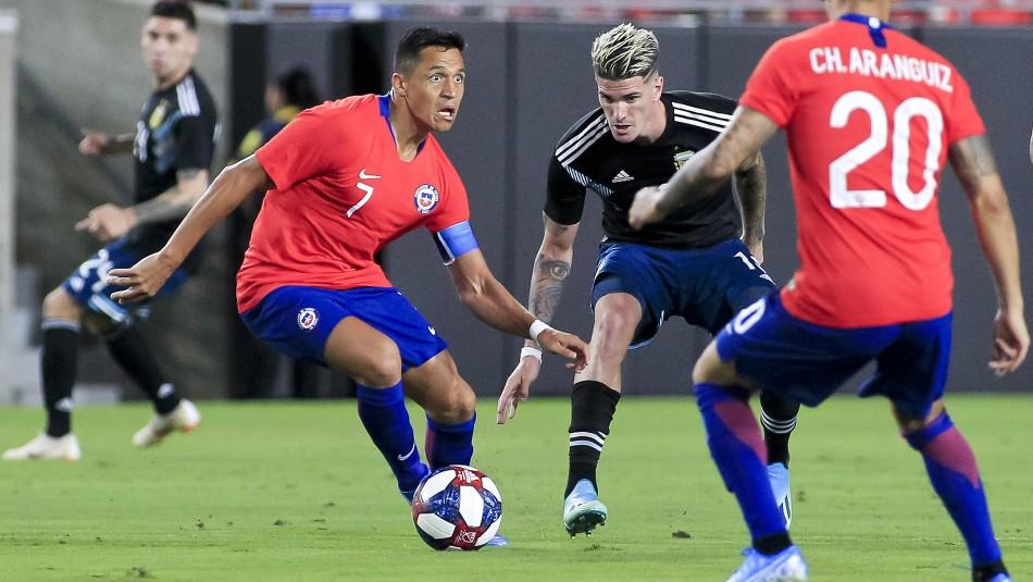 Ranking FIFA: Chile se mantiene 19° en el listado que encabeza Bélgica
