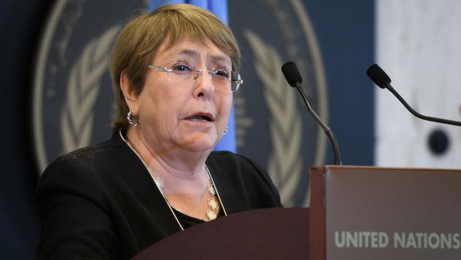 Bachelet: Bombardeos israelíes en Gaza pueden ser