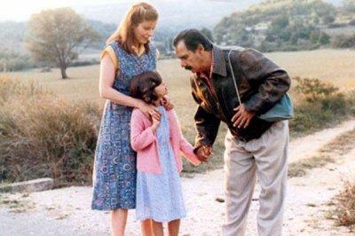 Maiwënn Le Besco cuando niña en la película