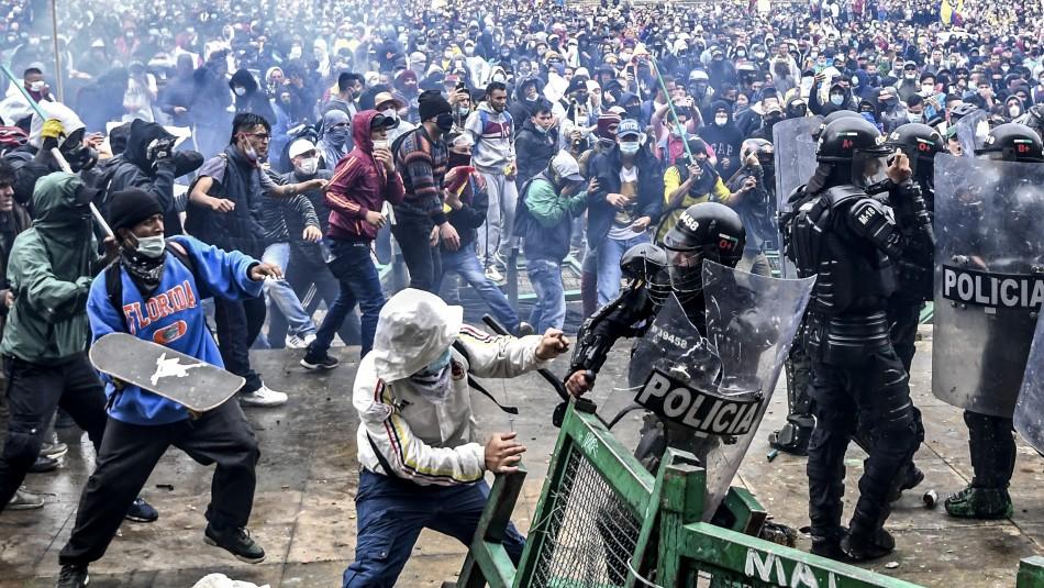A un mes del estallido social en Colombia.