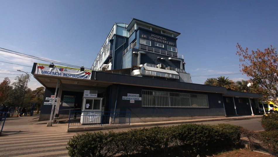 Alcalde de Puente Alto confirma 100% de ocupación de camas críticas en Hospital Sótero del Río