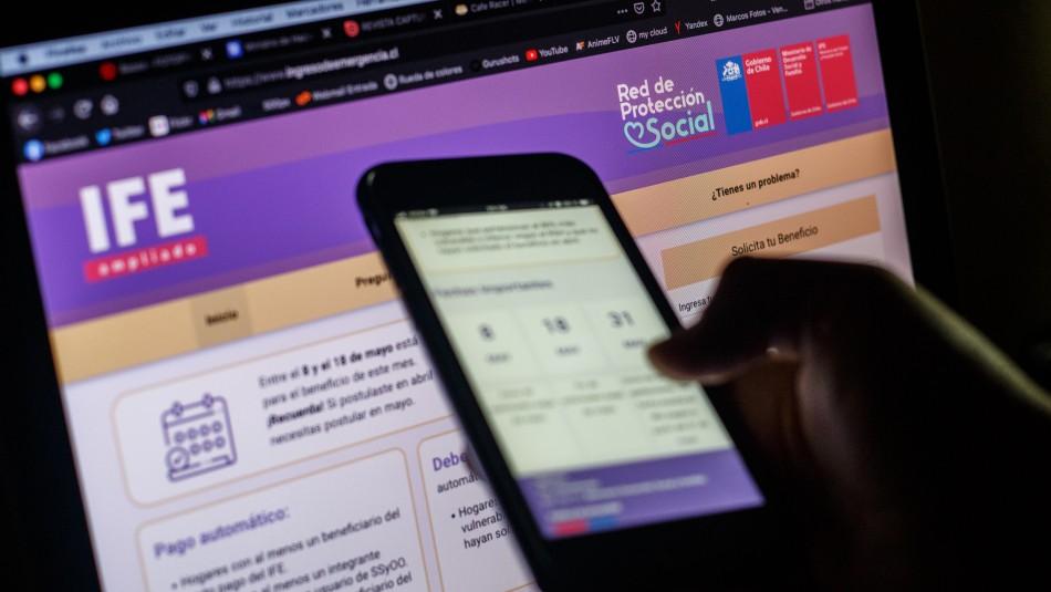 IFE Universal: Rubilar explica declaración de ingresos que se le pedirá a cierto grupo familiar