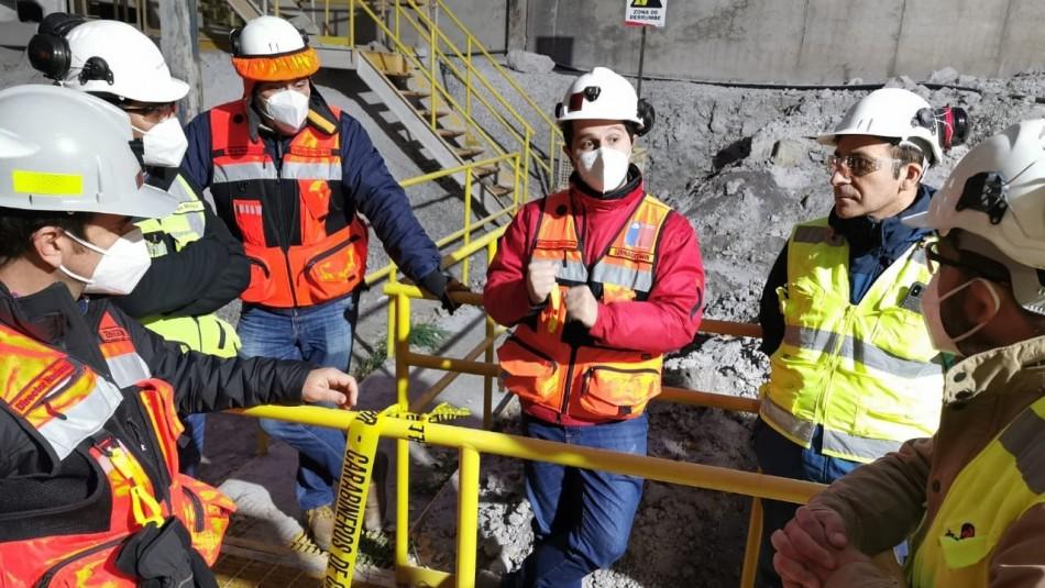 Trabajador minero muere aplastado en silo de yeso en San José de Maipo