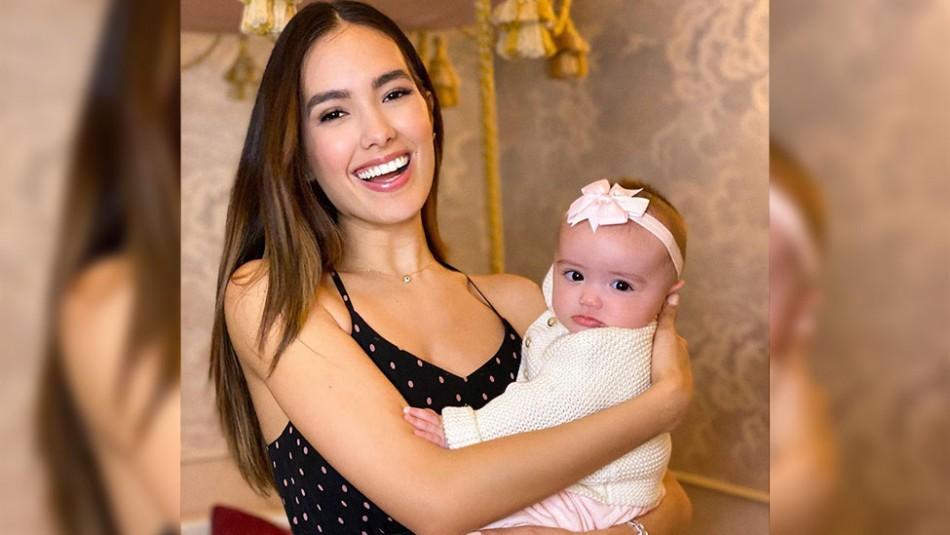 La hija de Sharon Fonseca y Gianluca Vacchi ya tiene 7 meses: ¿A quién se parece?