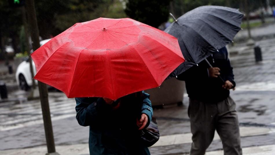 Fuertes lluvias sur del país.