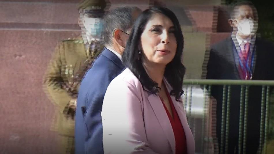Cuenta Pública: Ministra Rubilar se disculpa por llegar al Congreso sin mascarilla