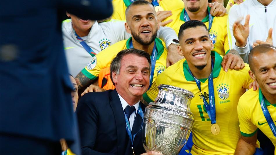 Bolsonaro confirma la Copa América en Brasil y anuncia 4 de las 5 sedes