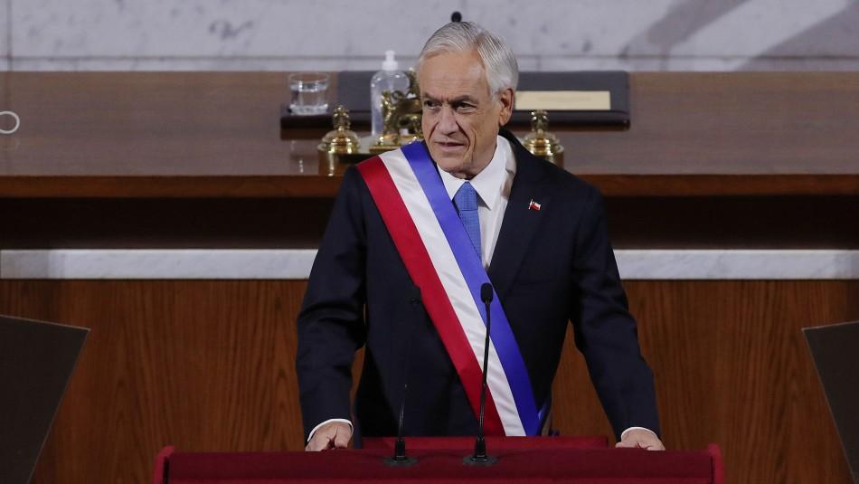 Piñera en su última Cuenta Pública: