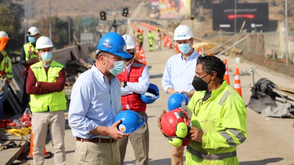 Ministro Moreno y empleo en la construcción: 8 de cada 10 personas han recuperado su trabajo