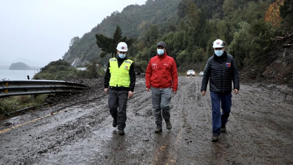 Subsecretario del MOP supervisa obras de emergencia en zonas afectadas en Los Ríos
