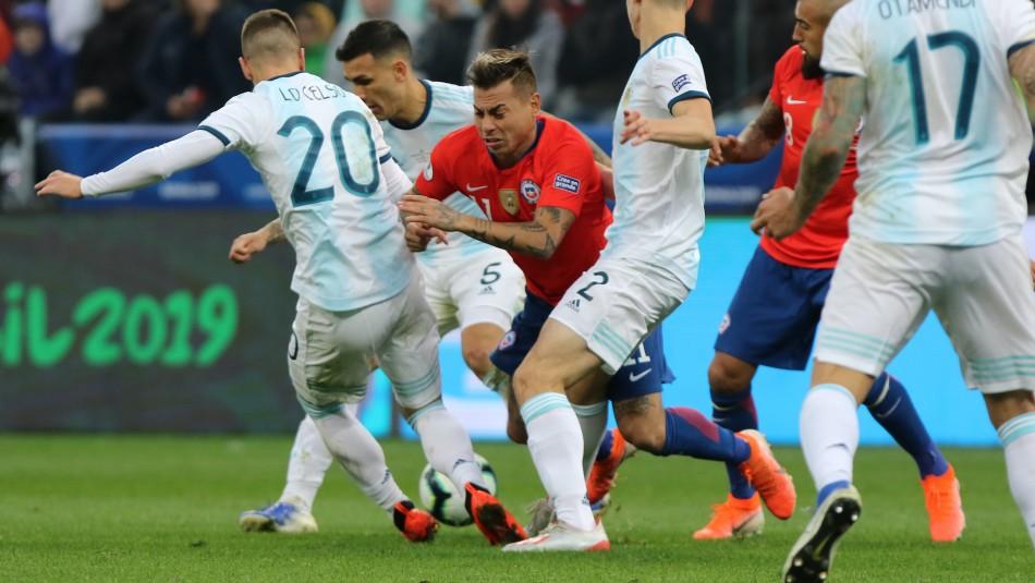 Revisa el horario del partido Argentina vs Chile y las probables formaciones