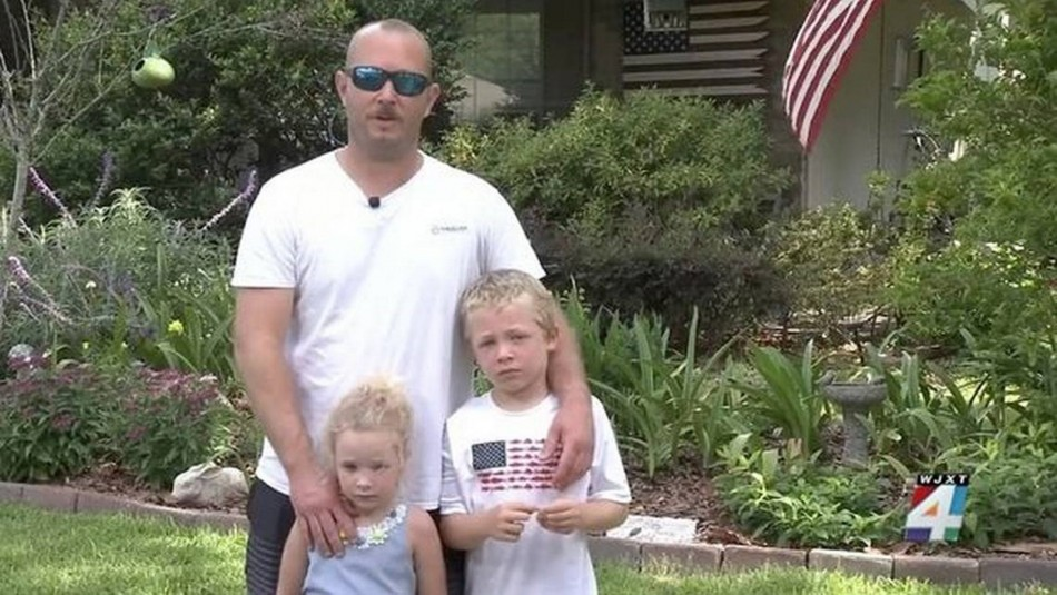 Niño de 7 años nadó durante una hora para salvar la vida de su papá y hermana