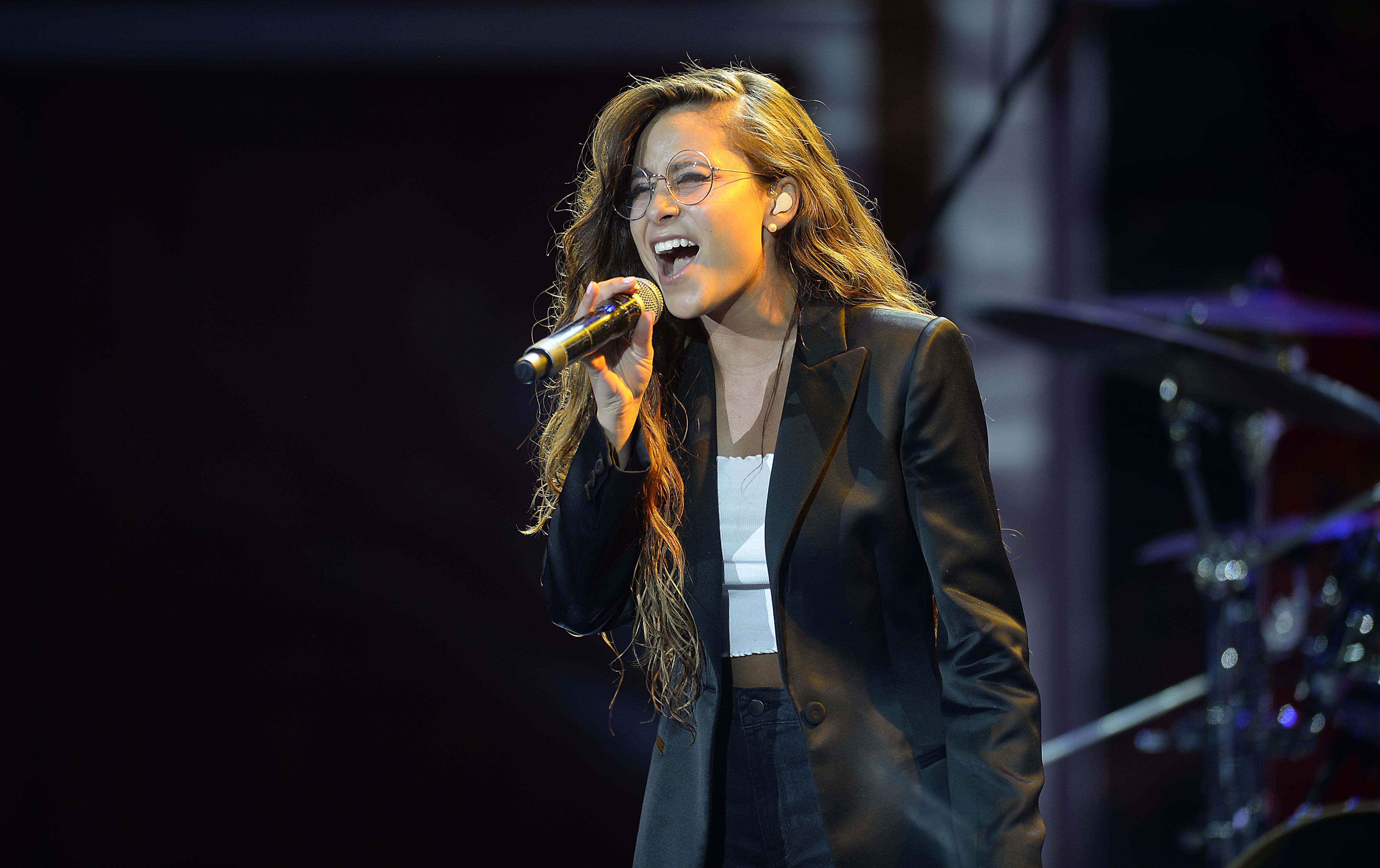 Camila Gallardo en el Festival del Huaso de Olmué - 2018