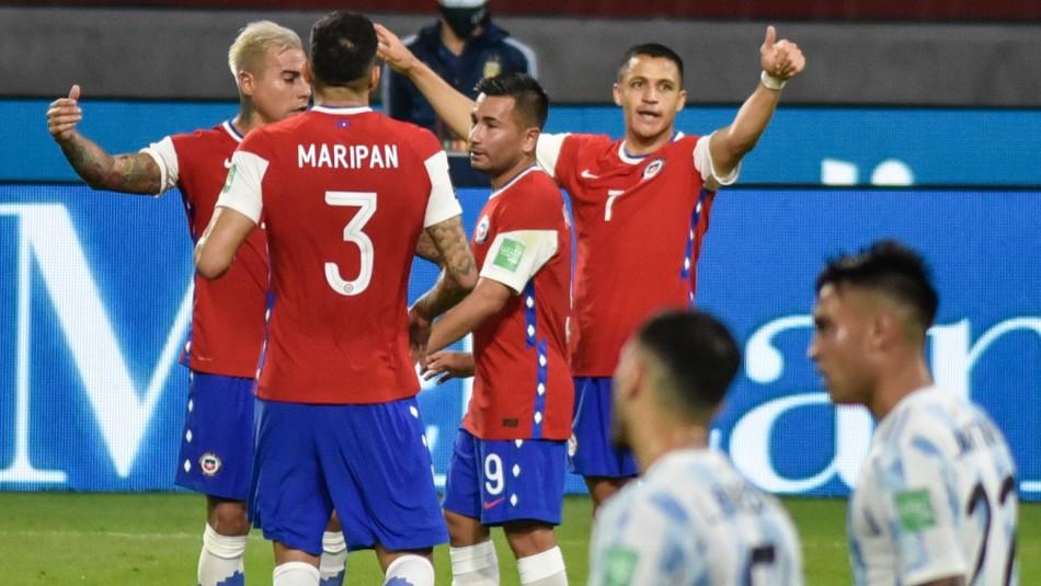 La Roja rescata valioso empate ante Argentina con gol de Alexis Sánchez
