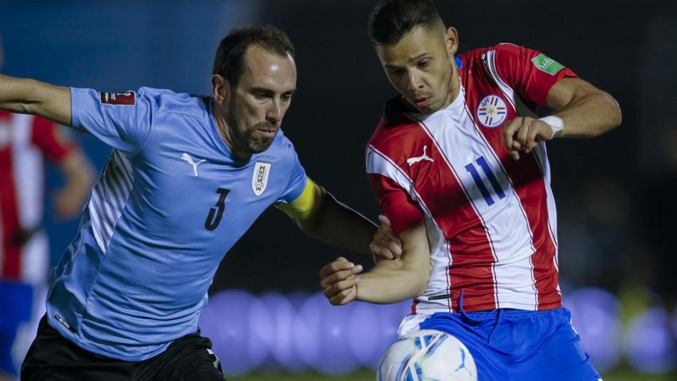 Uruguay y Paraguay empatan en Montevideo.