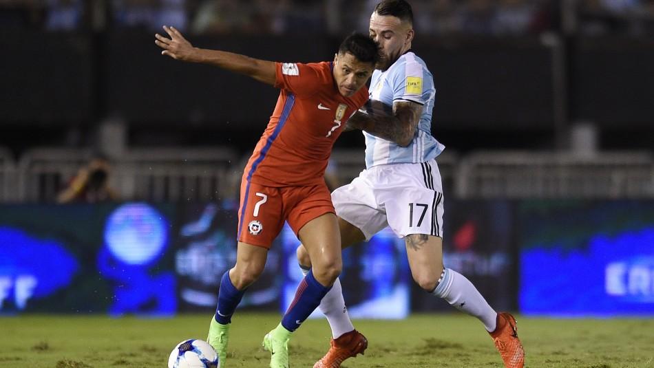 Alexis Sánchez lidera el ataque ante Argentina.