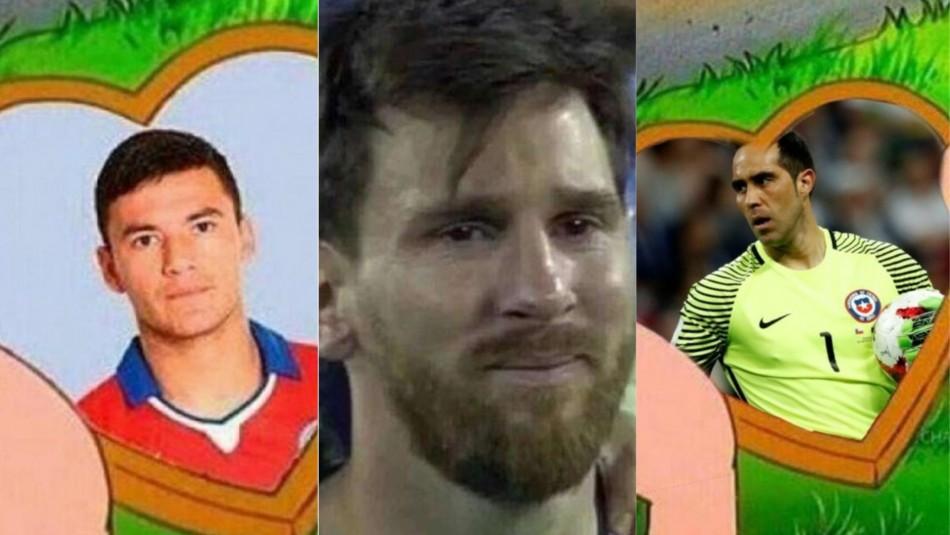 Los memes del partido Argentina-Chile.